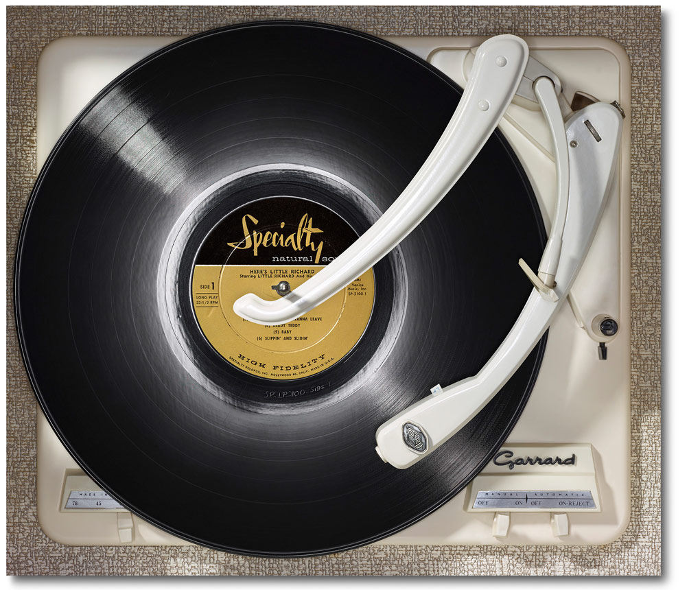 Richard - Here's Little Richard - on Garrard »And I'd like to give